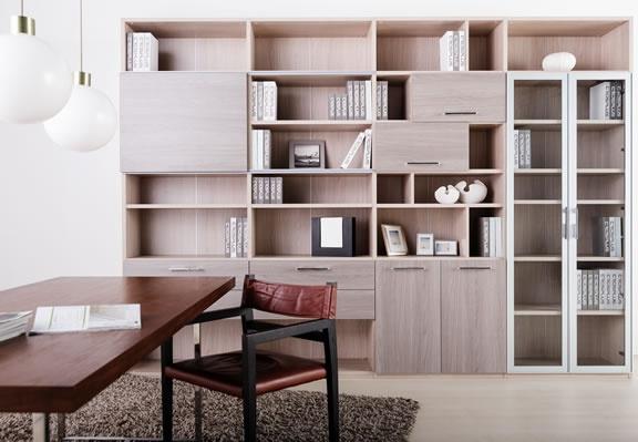 家居 家具 设计 书房 书架 装修 576_399