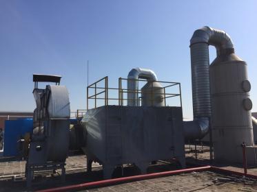 广州某电子厂粉尘废气治理工程